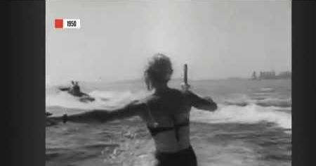 A Moment in Time: 1950 Water Skiing School