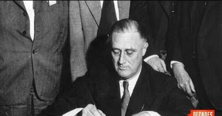 FDR Signs the Tennessee Valley Authority Act