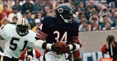 Walter Payton Breaks the NFL's Rushing Record