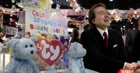 Retrospectacle: Ty Warner's Beanie Baby Fad
