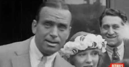Douglas Fairbanks & Mary Pickford Wed