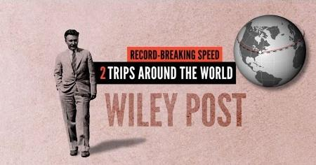 Wiley Post's Record-Breaking Flights Around the World