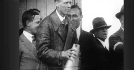Lindbergh Flies Across the Atlantic